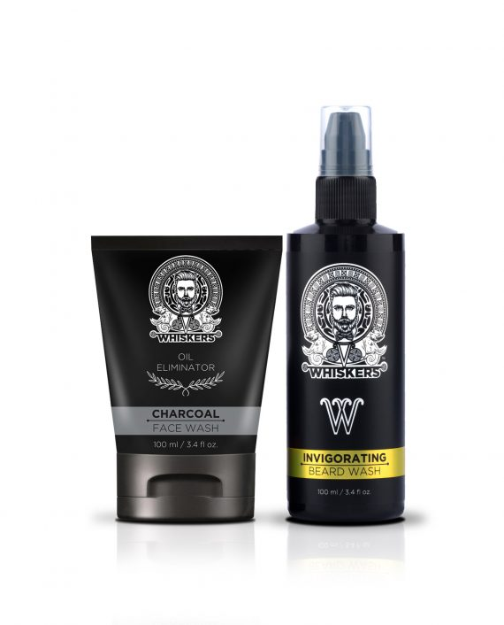 face n beard wash combo